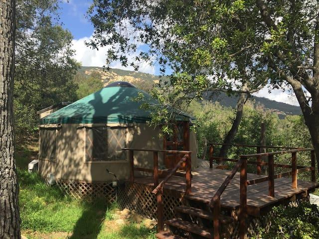 Yurt in Topanga