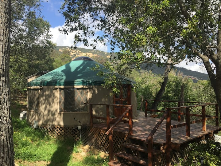 Yurt in Topanga