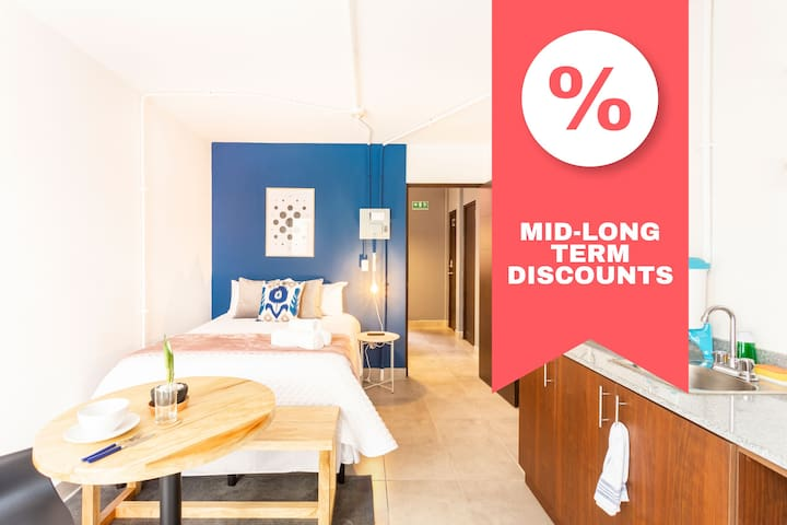 ➨DISCOUNT➨Comfy Studio with Nice Patio / 2 people