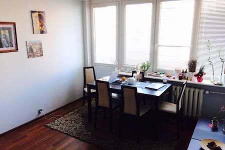 Bed&Breakfast with WiFi 20min to the City Center - Warszawa - อพาร์ทเมนท์