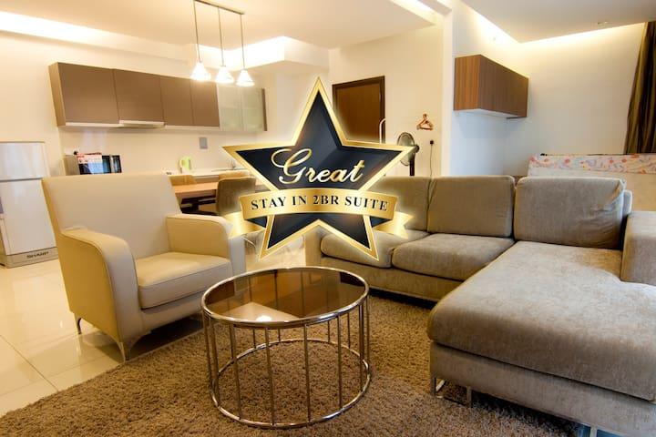 Cozy & Elegance 2BR Suite @ Regalia, KL Center