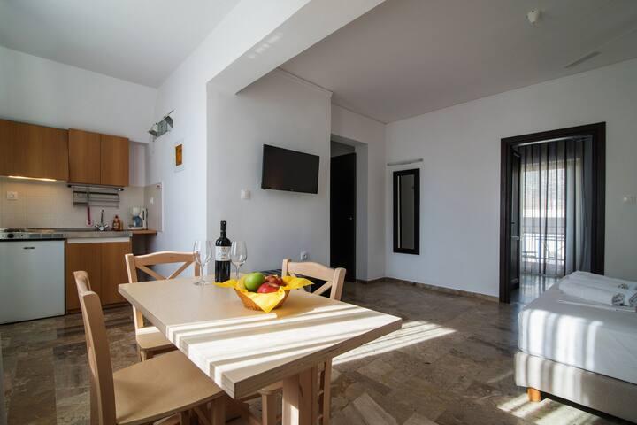 Living Room & Kitchenette