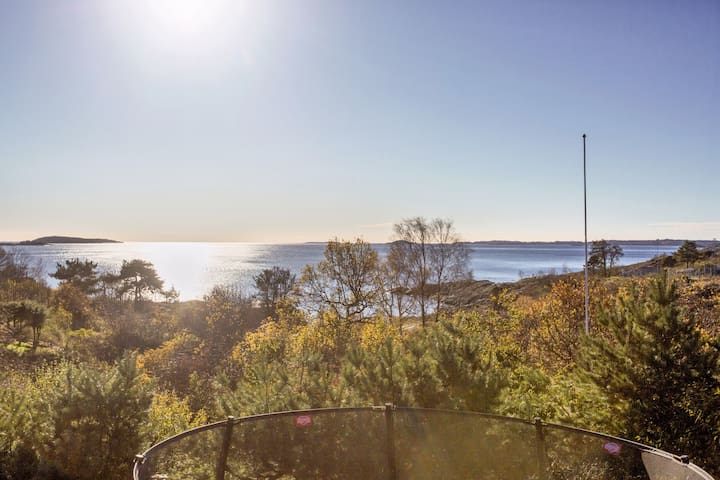 House with spectacular view in Kristiansand