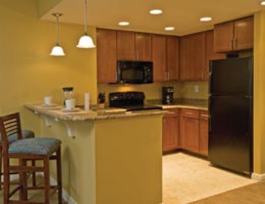 Typical Kitchen (not exact).