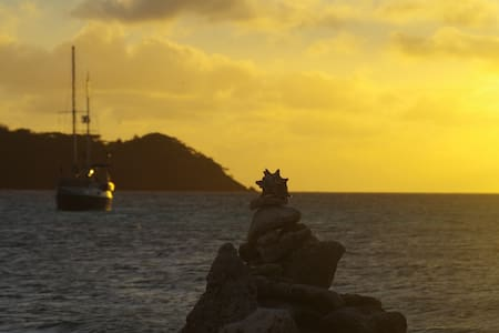 Private sail cruise on a yacht - St. Georges