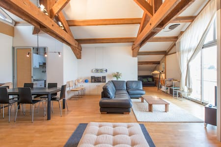 Loft in front of sea, wonderfull vi - Bandol