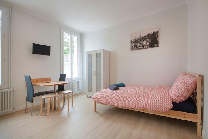 "Studio ""Locquéran"" (au coeur de la ville) - Audierne - Apartemen"