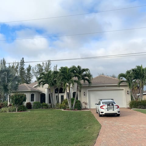 Our beautiful SW Florida home ~ New flat tile roof and exterior paint November 2019