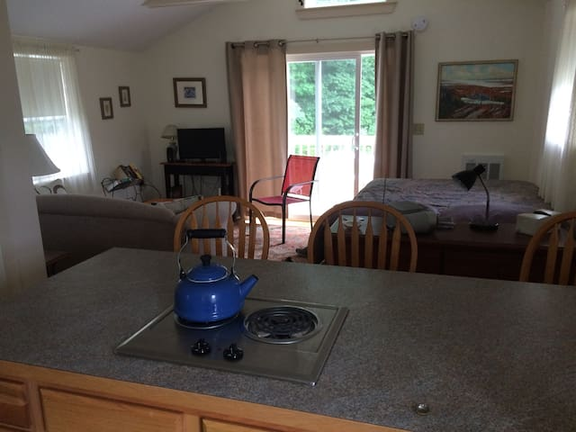 Studio apartment, convenient to Bowdoin College - Brunswick - Apartamento