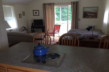 Studio apartment, convenient to Bowdoin College - Byt