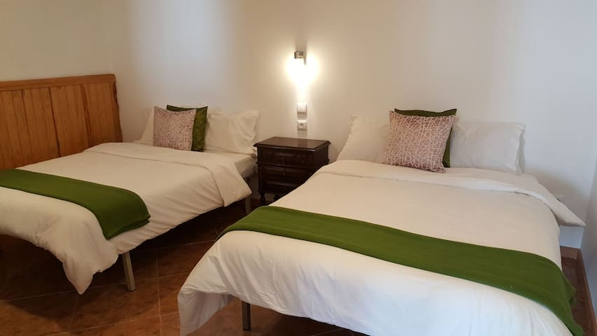 Private Room in Alcobaca, up to 4-5 persons