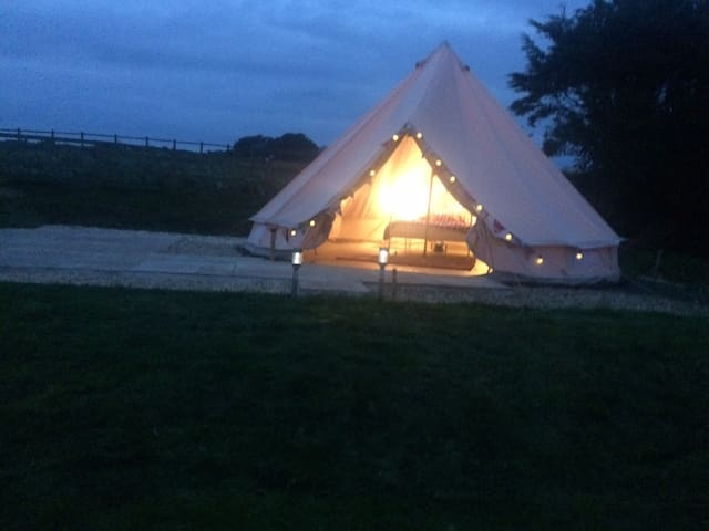 Luxury Glamping at Redcliffe Farm Scarborough