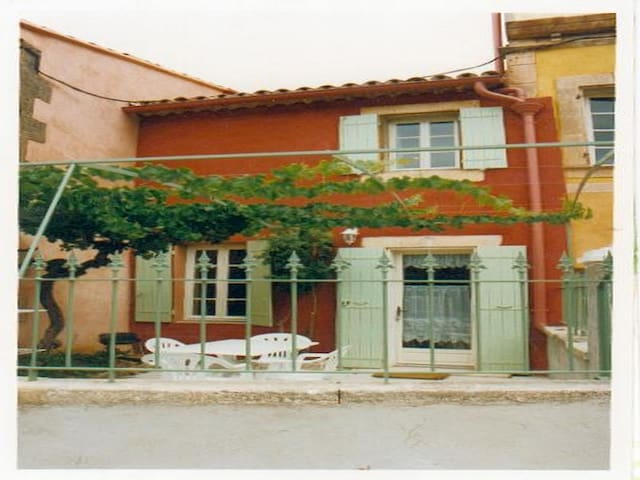 La TONNELLE des OCRES  - ROUSSILLON - Huis