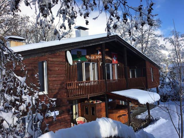 Free Spirit Lodge Sörenberg/Luzern - Flühli - Kabin