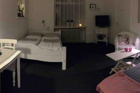 Lille lejlighed med eget køkken, bad og toilet