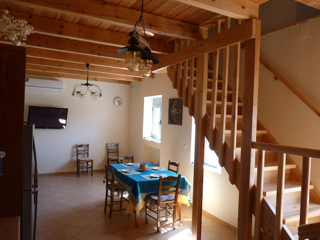 Living Room-Dining Area.