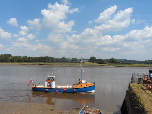 Beautiful river Tamar