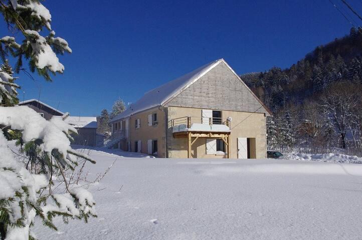 Bel appart** + terrasse, 6 pers, 2 km ski alpin