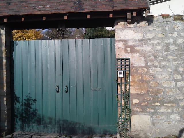 2 chambres au coeur du Vexin - Auvers-sur-Oise - บ้าน