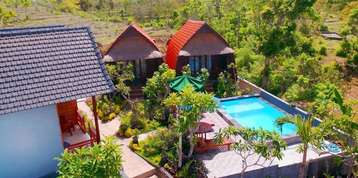 Agasta Villa Bungalows beautiful tranquil location