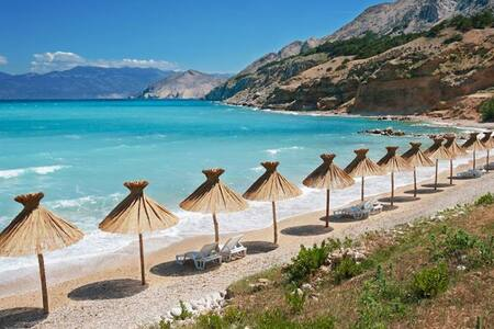 Small apartment 40m from the beach, Baška,Krk