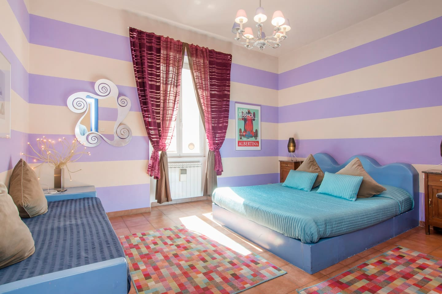 Large 3bdr apartment near Colosseum