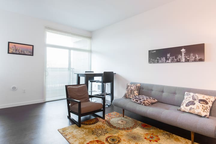 Modern Hip Seattle Apt - 8min to Space Needle