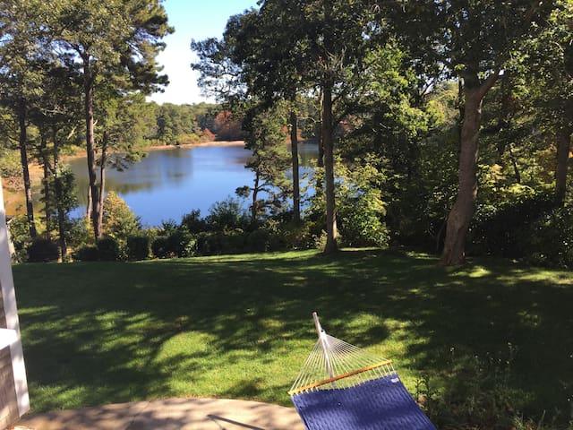 Beautiful home on Deep Pond near Pleasant Bay