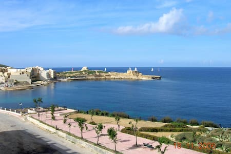 D7-Sea Front 1 Bedroom Apartment -*Aircon*-