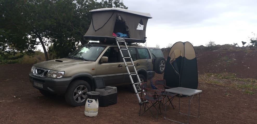 rent 4x4 camping