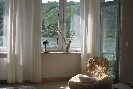 """Wohnung am Rhein-""""Pfalzgrafenstein"""" - Lorch"""