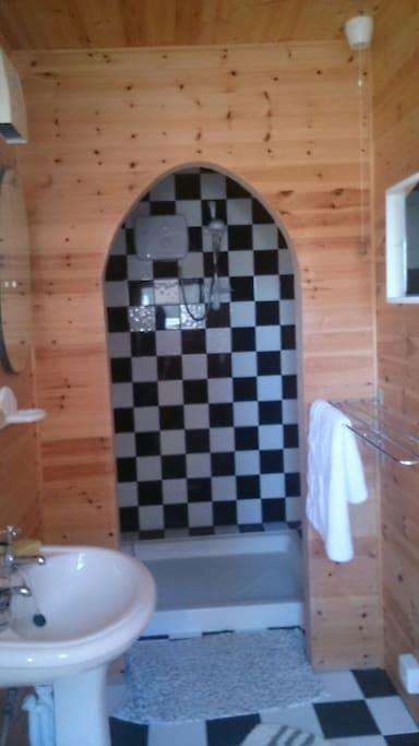 Ensure Shower/Toilet