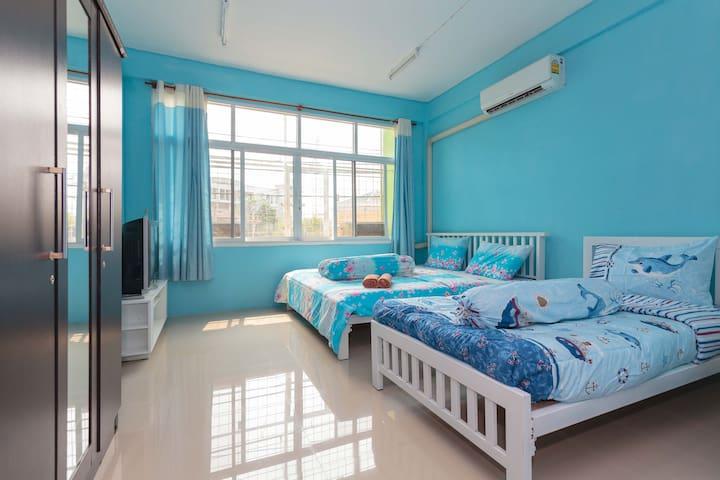 Clean&CozyStudio3@centreBKK nearMRT - Bangkok - Apartment