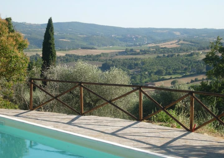 Italien farmhouse-total privacy- with private pool