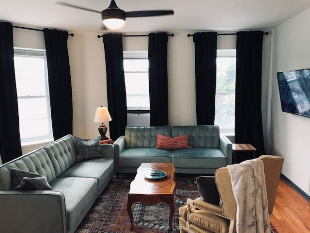 Large Parisian Inspired Apartment in Heart of Manayunk
