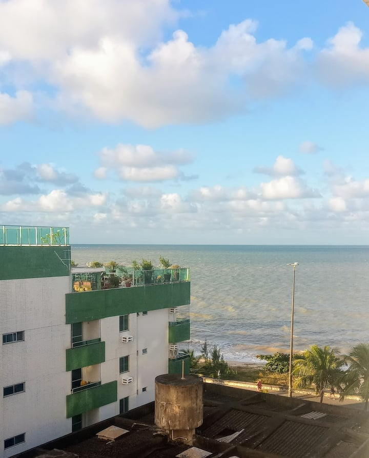 Flat na Beira Mar de Manaíra
