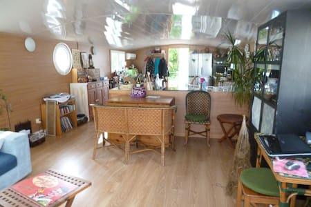 house boat à 20 min de Paris - Vigneux-sur-Seine