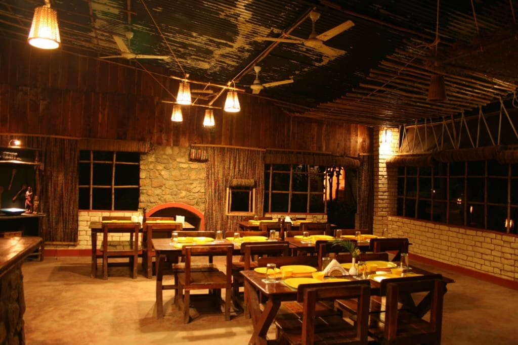 The dining hall to share jungle stories over food of your choice or a cup of hot tea