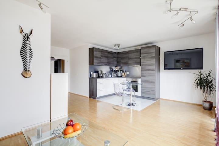 Modern apartment in quiet location