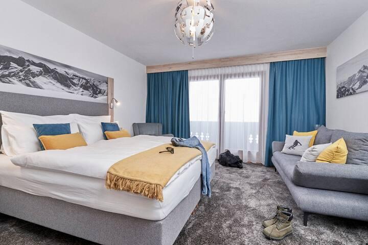 Elegantes Doppelzimmer für einen unvergesslichen Aufenthalt für 2-4 Personen - Doppelzimmer Superior - Pension Bergheim