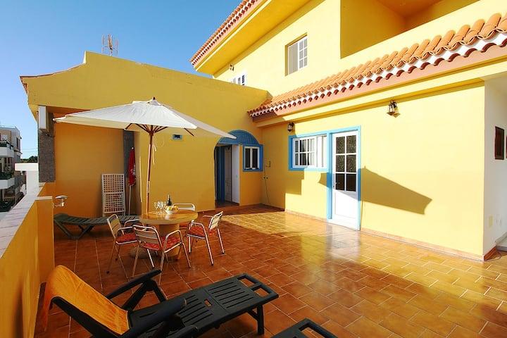 Candelaria - Apartment, Blick auf den Atlantik