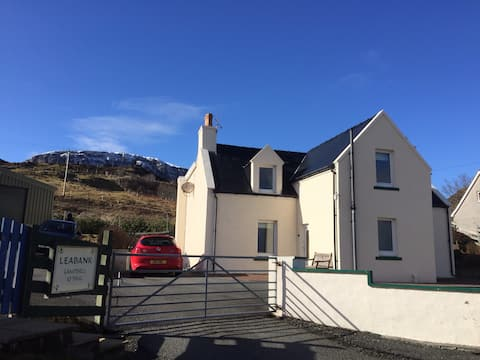 Leabank, Staffin, Double ensuite with sea view