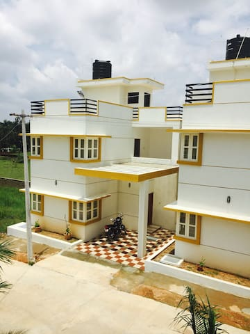 Golden Mile- 3BHK Villa with a swimming pool