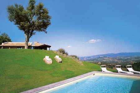 stunning villa with amazing views - Casemasce - Huvila