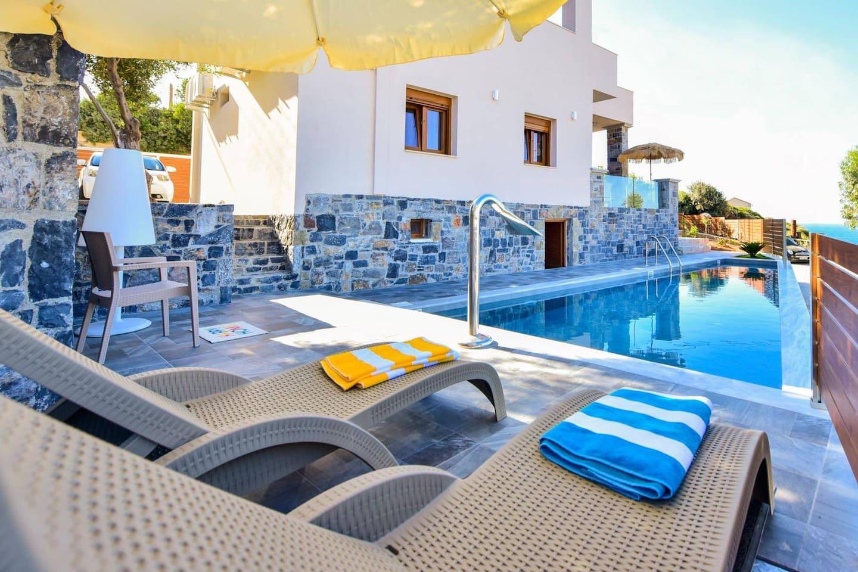 Panorama Villa Seafront Private Pool