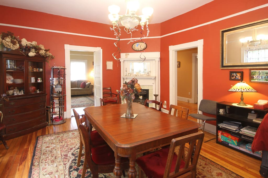 Dining room , common space for the house