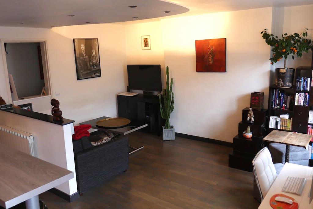 studio de charme 36m2 paris 13 appartements louer paris le de france france. Black Bedroom Furniture Sets. Home Design Ideas