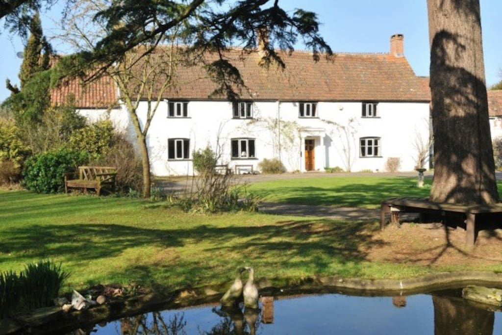 Langaller Manor House dates back to 1450