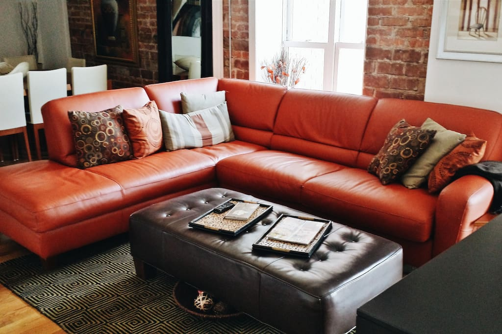 Sectional Sofa-sleeper for 3rd (+1) guest