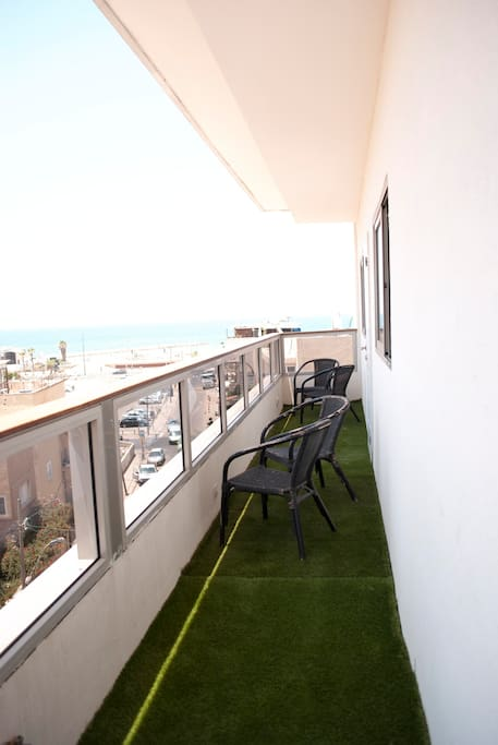 Our Sweet Balcony, with a great Sea view!